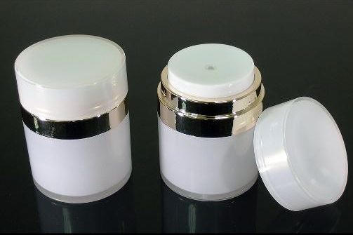 Airless cream jars